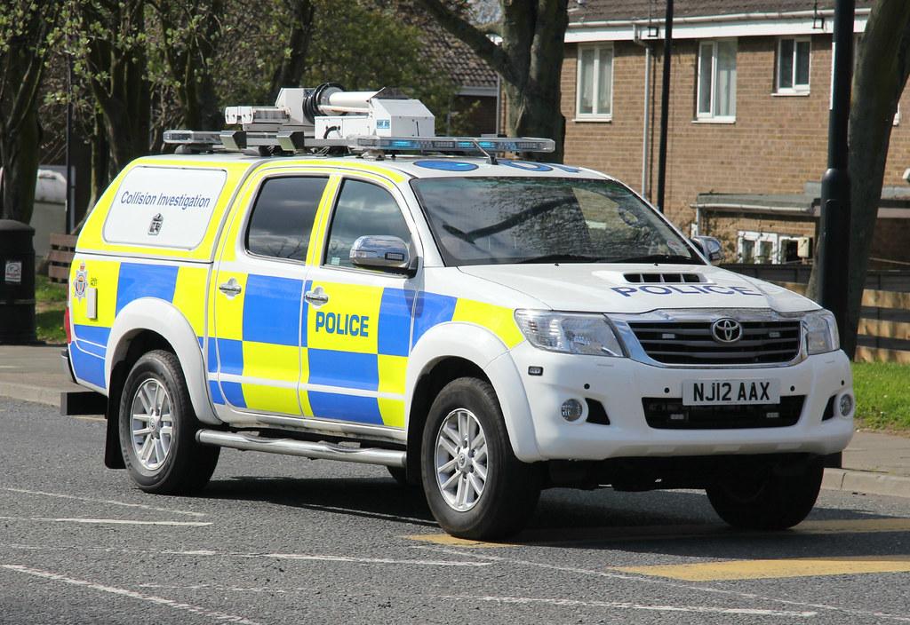 Northumbria Police Toyota Hilux Collision Investigation Un Flickr