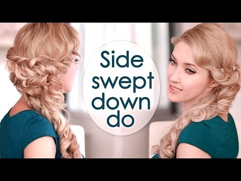 Half Up Half Down Hairstyle With Curls Prom Wedding Hair Flickr