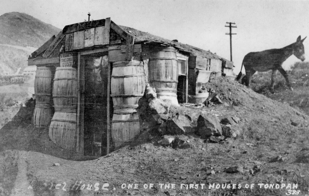 ... Barrel House, Tonopah, Nevada | By Orange County Archives