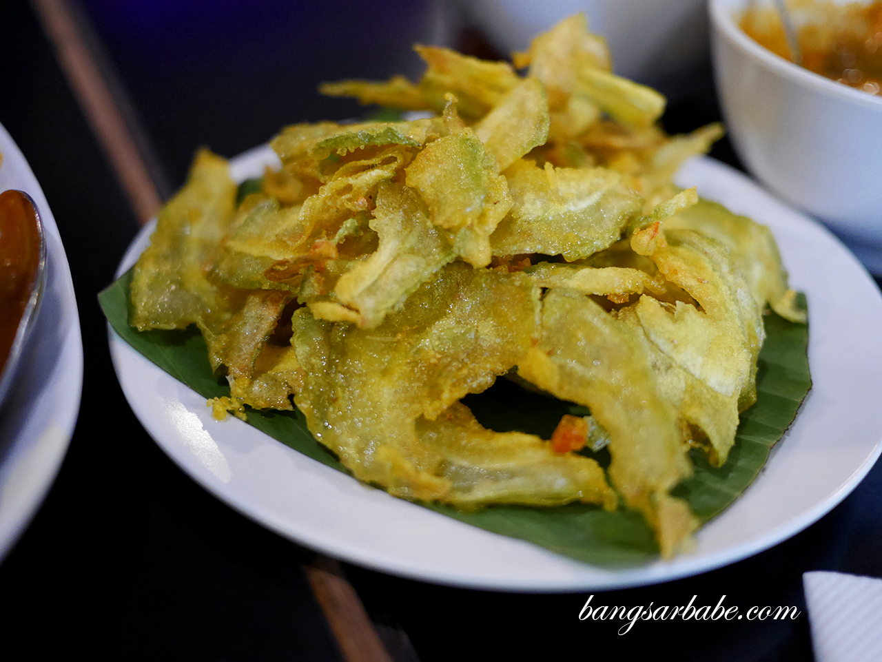 Fried Bittergourd