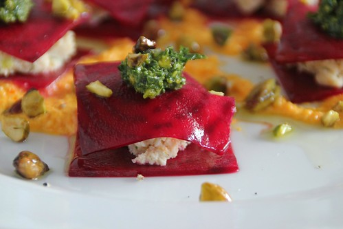 Red Beet Ravioli 1 | by Couscous & Consciousness