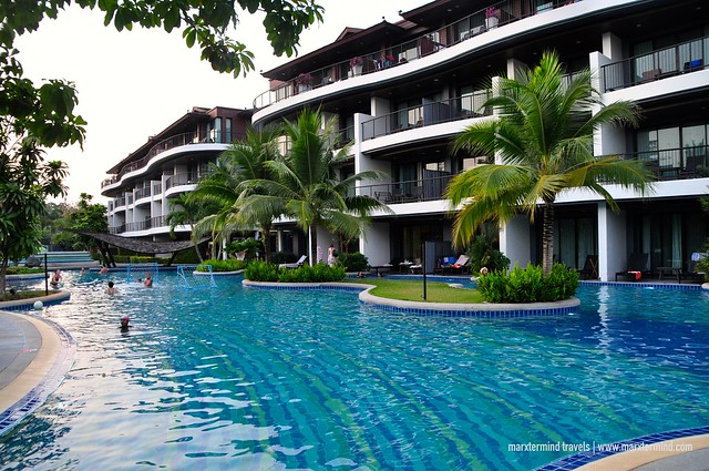 Family Wing Swimming Pool at Holiday Inn Resort Krabi