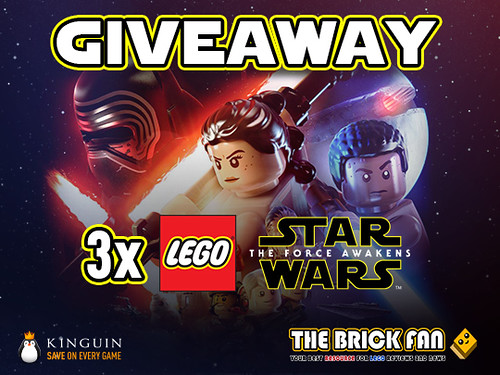 LEGO Star Wars: The Force Awakens Kinguin Giveaway