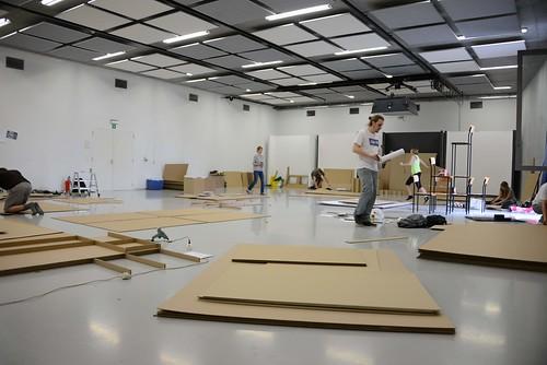 Opbouw afstudeertentoonstelling luca interieurvormgeving for Interieur vormgeving