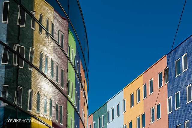 Looking up: Arena Boulevard