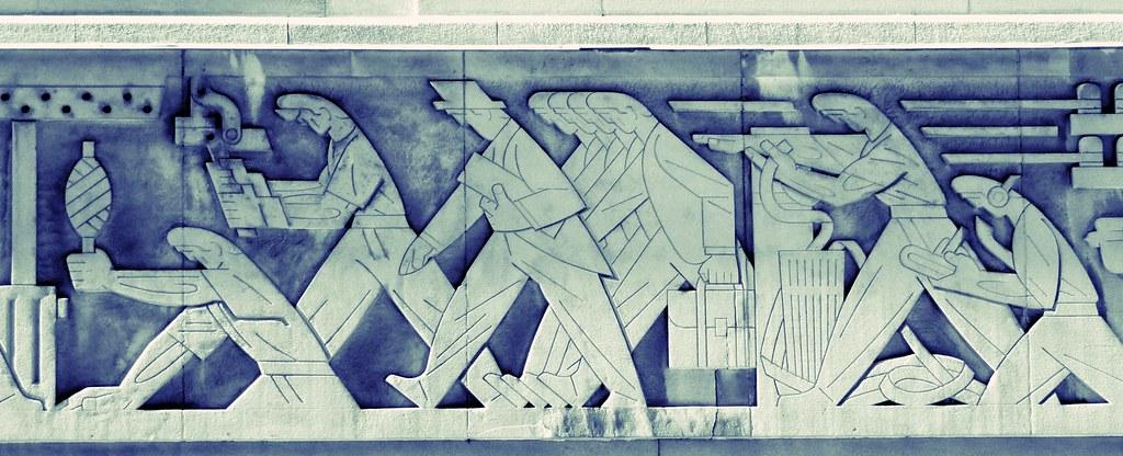 1937 Bas-Relief / Art Deco Frieze .... Toronto Stock Excha… | Flickr