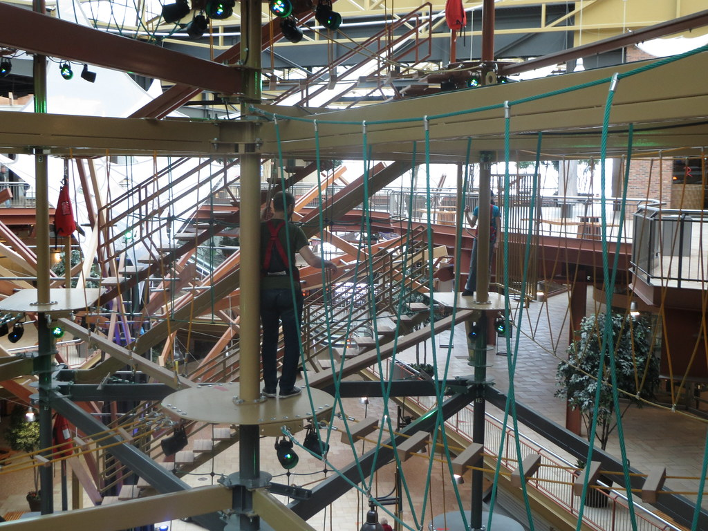 Ropes course at Destiny USA Syracuse NY zombieite – Destiny Usa Mall Floor Plan