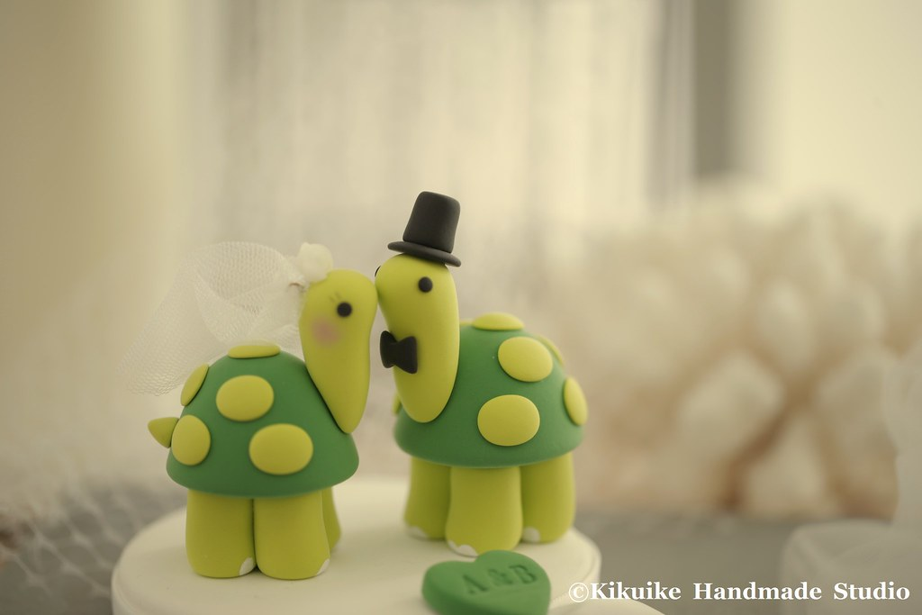 Wedding Cake Topper-love turtles   www.etsy.com/listing/6268…   Flickr