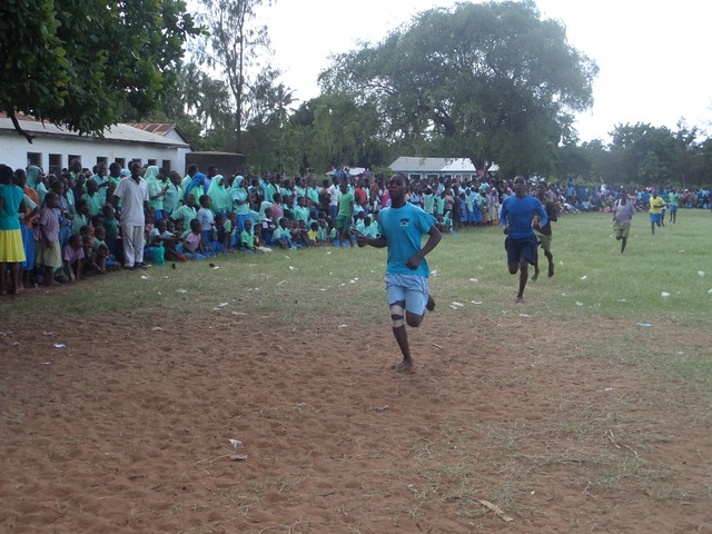 Athletics at  Barani P.S. in Majengo