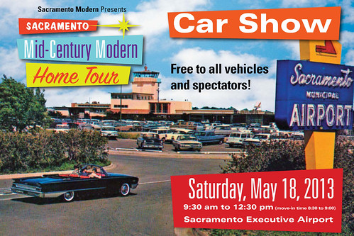 2013 Sacramento Mid-Century Modern Home Tour: Vintage Transportation Show | by atomicpear