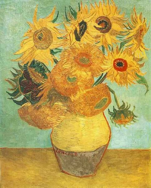 Van Goghs Still Life Vase With Fifteen Sunflowers Flickr