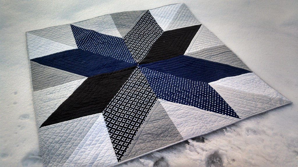 Gary's Giant Star Quilt | Made with the the Giant Vintage St… | Flickr : giant star quilt - Adamdwight.com