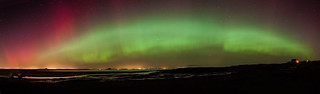 Aurora over Belhaven bay | by Euan.Mcintosh