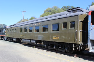 Southern Pacific #10040 (Dining Car) in Sunol, CA | by CaliforniaRailfan101 Photography