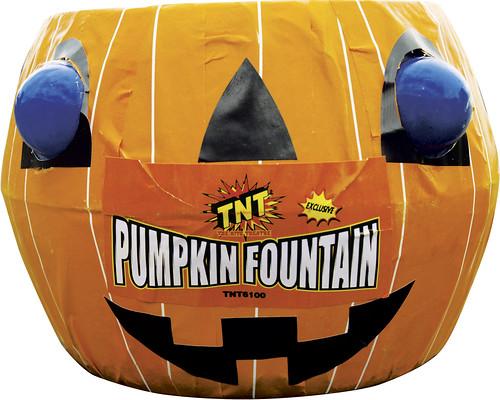 Pumpkin Fountain by #TNTfireworks