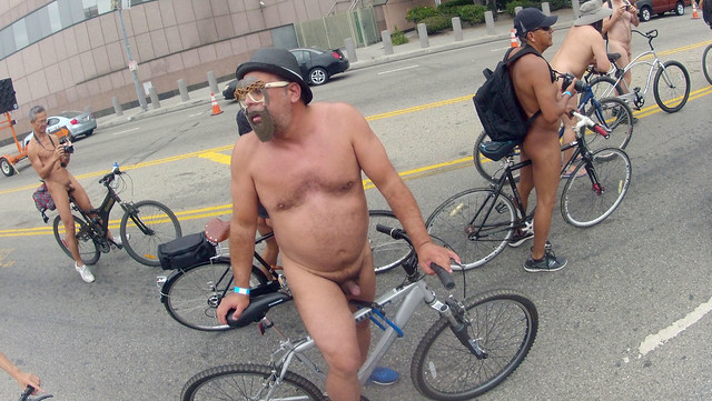 LA World Naked Bike Ride (707)