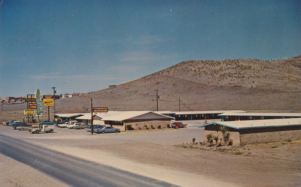Ponderosa Motor Inn and Restaurant - Alpine, Texas