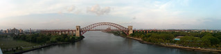 Panorama of Hell Gate Bridge | by Preetha & James