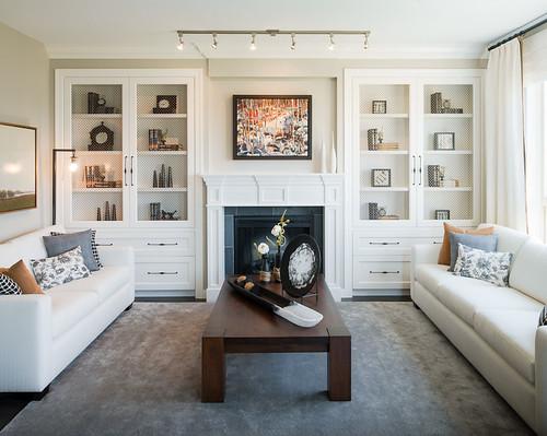 Modern Farmhouse Living Room Velvet Sofa
