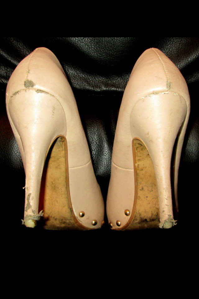 """Heels lover on Twitter: """"Wife's #trashed work #heels... what to do ..."""