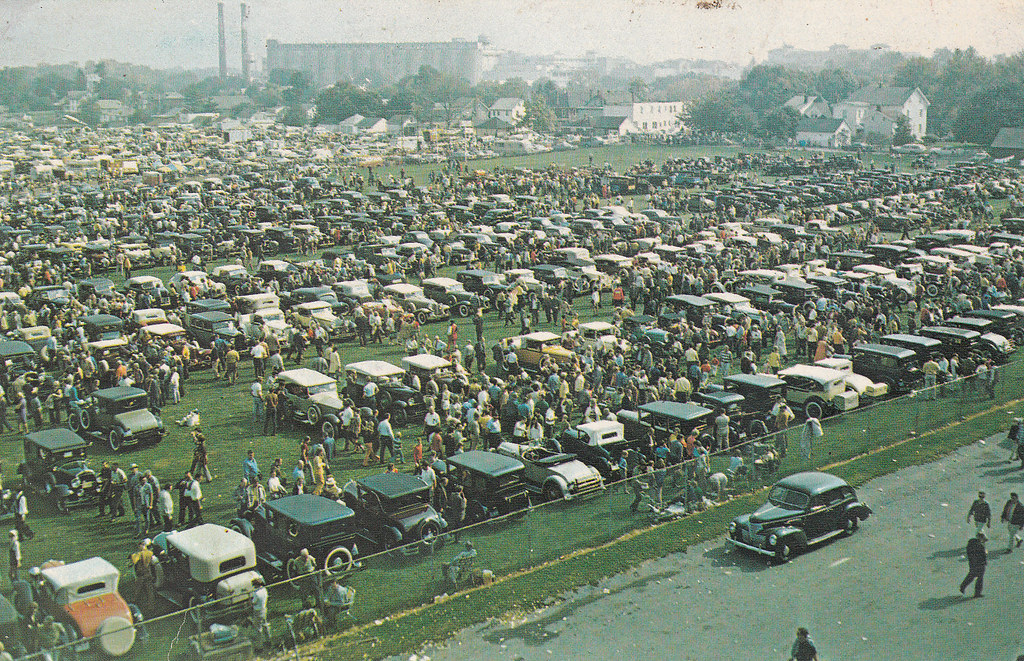 Hershey Car Show >> Hershey Car Show Postcard Carl Mcdaniel Flickr