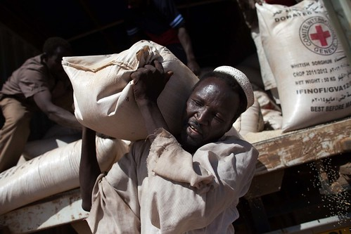 WFP food distribution | by UNAMID Photo