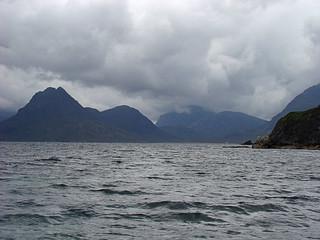 001 Cuillin Mountains vanaf Elgol