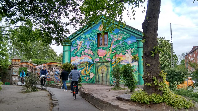 Freetown Christiania main entrance