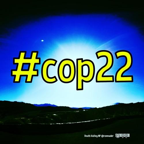 #cop22 square