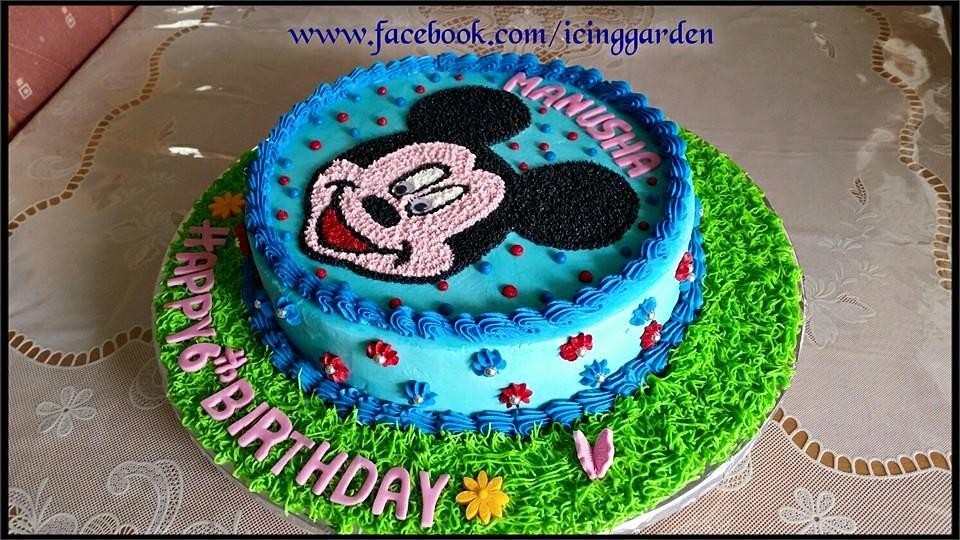 Birthday Cakes Icing Cake 6th Birthday Cake Mickey M Flickr
