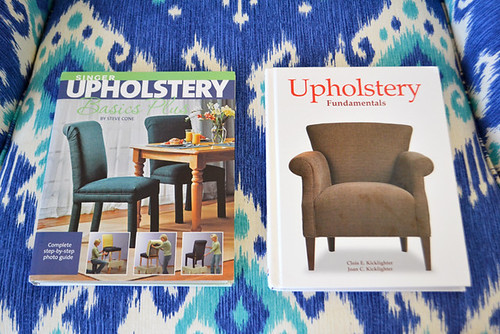 My Upholstery Books | by motoko smith
