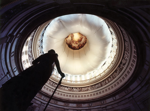 Safety Netting in Rotunda | by USCapitol