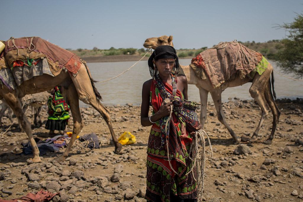 woman eissa somali tribe in Afar region   www.facebook.com/a…   Flickr