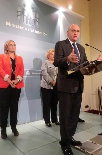 Los Ministros Del Interior Y De Justicia Se Han Reunido Co