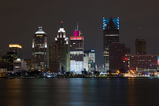 Detroit from Windsor | by philbabbey