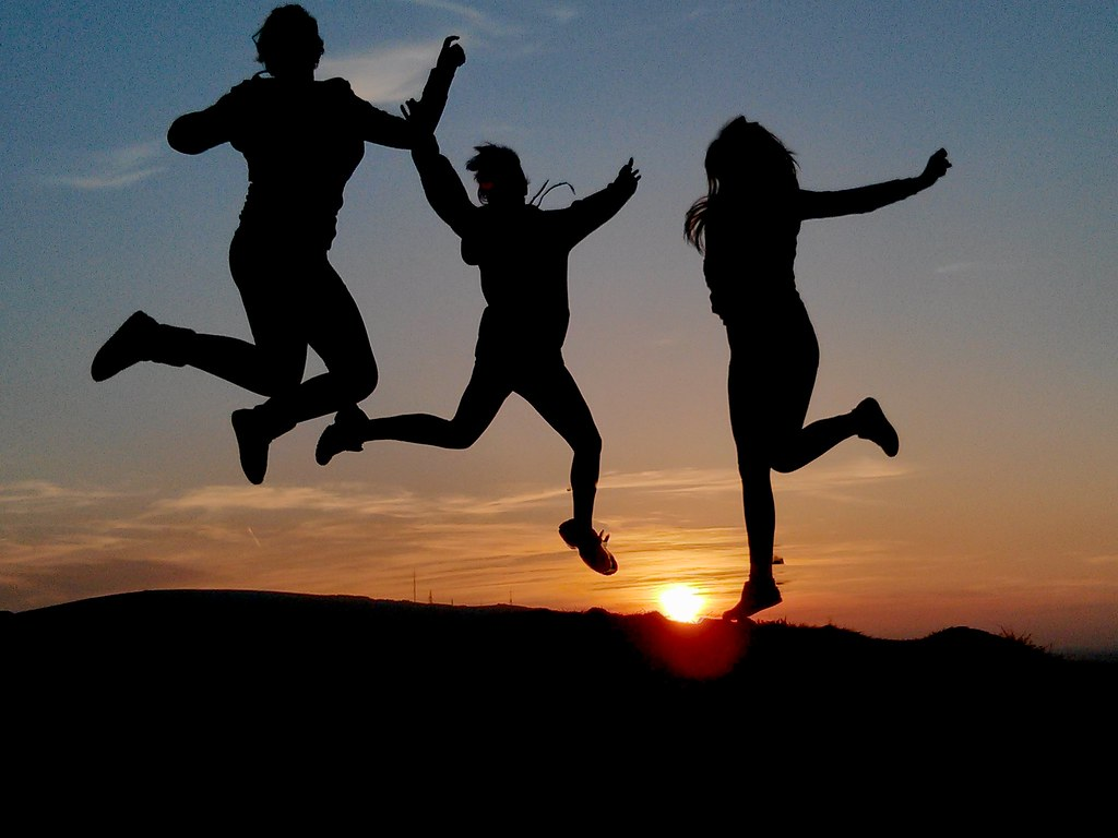 jumping for joy taken with my phone kilgarron flickr