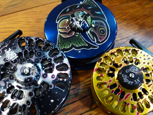 Abel Artistic and Fish Graphic Reels | by Backwater Angler