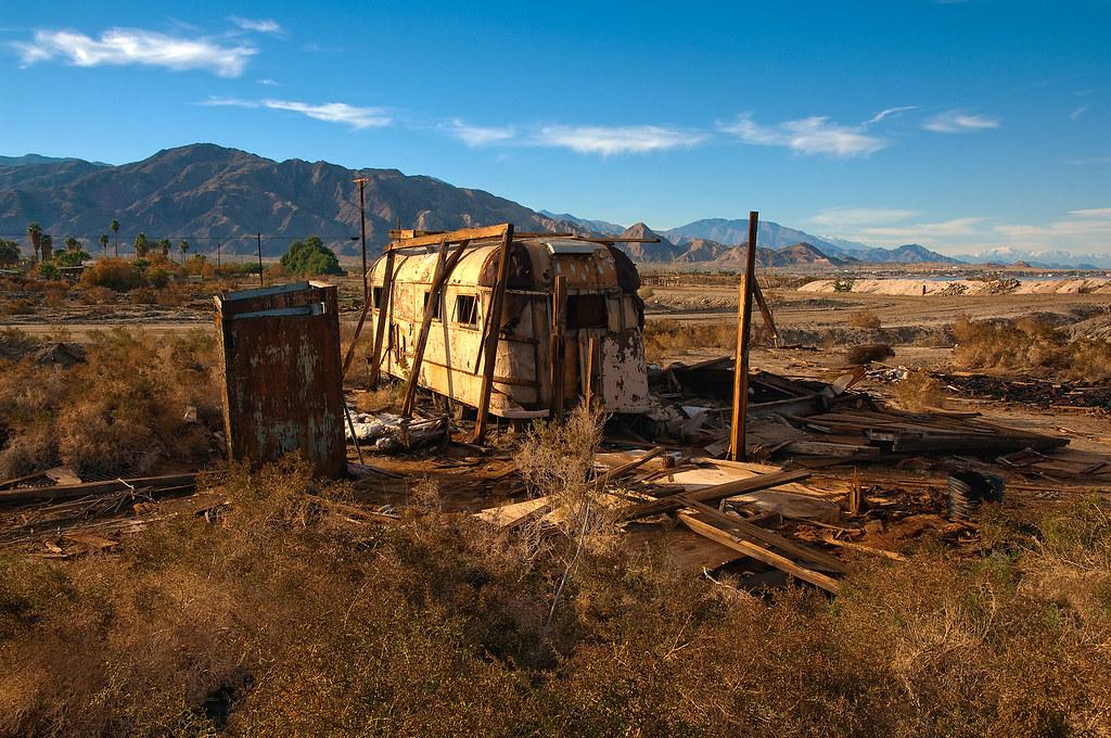 trailer, Salton Sea