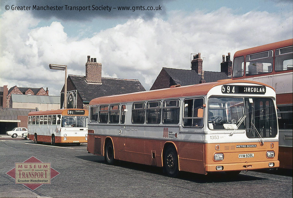 ... Greater Manchester Transport 1353, Leigh bus station | by Museum of  Transport Greater Manchester archive