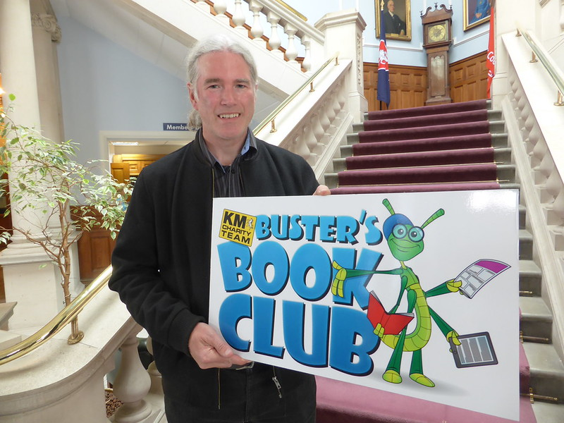 Kent County Councillers Support Buster's Book Club