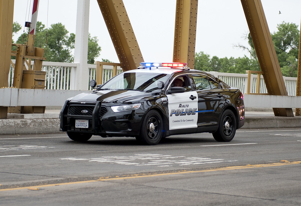 Rialto Police Taurus | Pictures from the 2013 California Pea… | Flickr