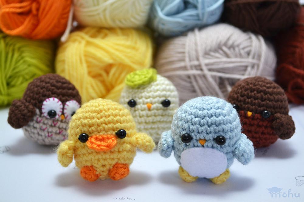 Amigurumi Bird Tutorial : Little amigurumi birds i ve made a crochet pattern for theu flickr