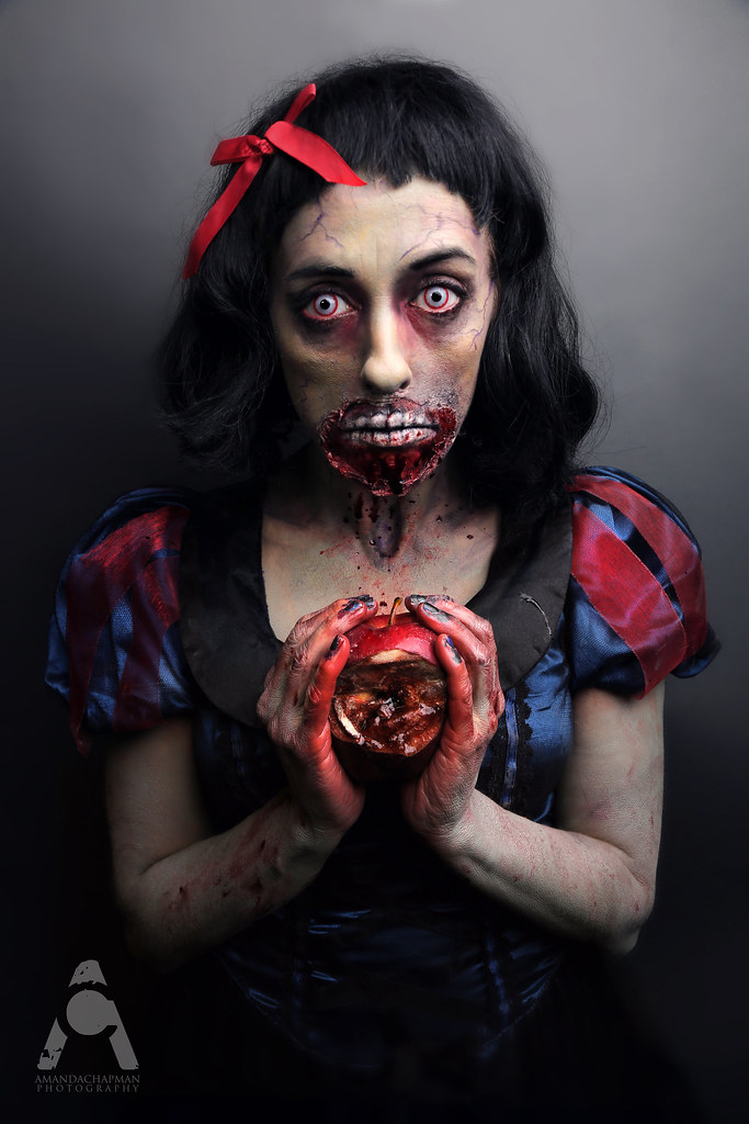 Zombie Snow White   31 Days Of Halloween Oct. 9 Model/Makeup…   Flickr