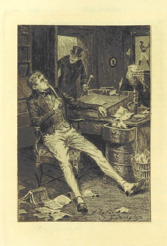 Image taken from page 208 of 'The Novels of Captain Marryat. Edited by R. Brimley Johnson. L.P' | by The British Library