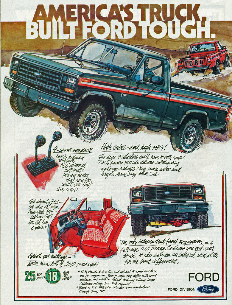 1982 Ford F-150 Pickup Truck | coconv | Flickr