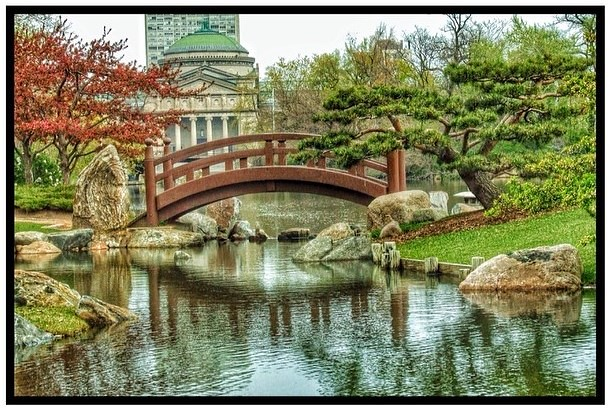 The serene Osaka Garden is right under the nose of Chicago…   Flickr