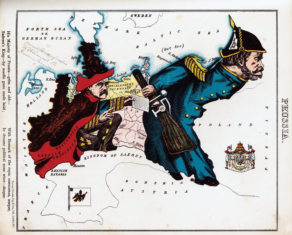 personification of prussia map edited old map of the perso flickr personification of prussia map by sjrankin