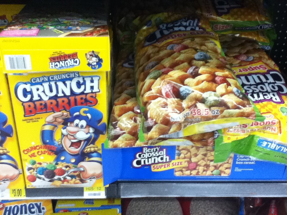 capn crunch cereal varieties flickr - Captain Crunch Halloween