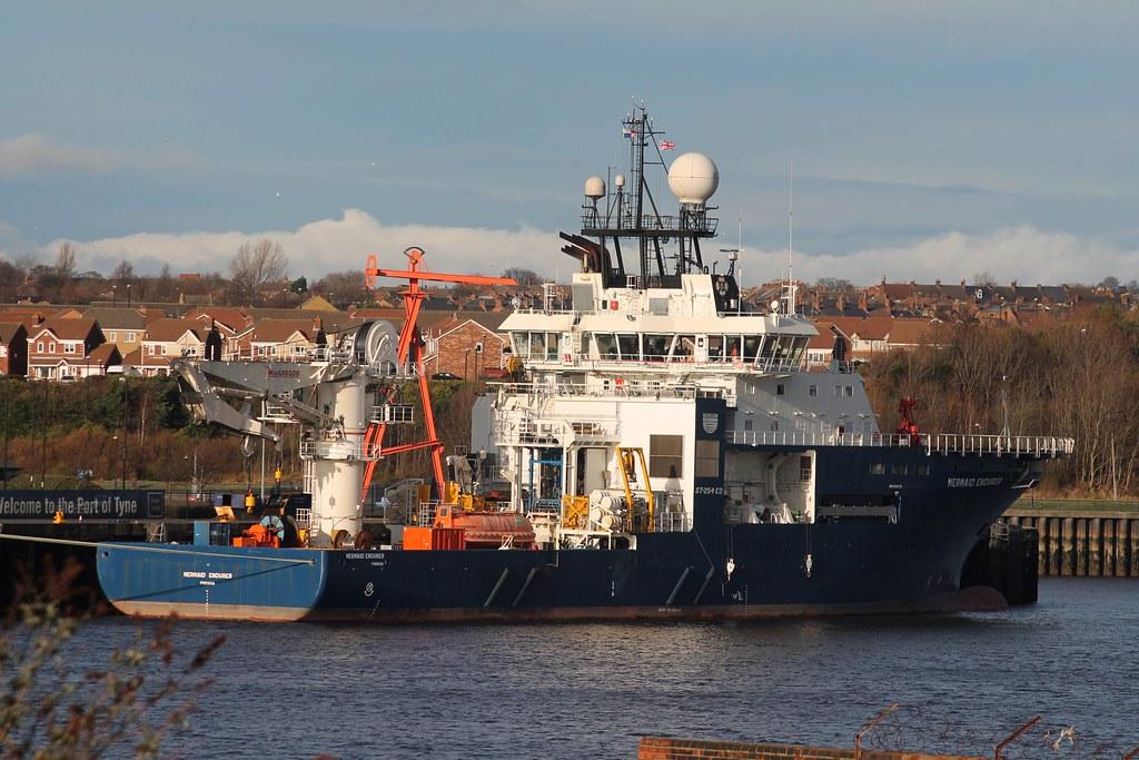 Offshore Support: MERMAID ENDURER (IMO 9484778 2009 6465gt
