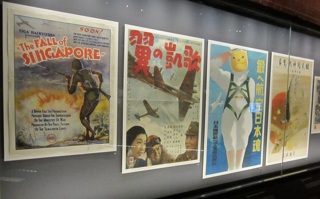 Japan occupation posters, Singapore National Museum